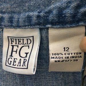 Field Gear Skirts - Field Gear Blue Denim Jean Skirt Size 12.
